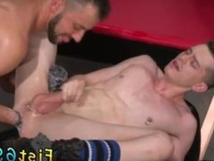Gay webcam fisting Aiden Woods is on his back and screams to Axel Abysse,
