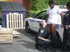 Cop and inmate I will catch any perp with a fat ebony dick, and fellate
