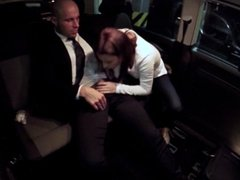 Fucked In Traffic - Hardcore fuck in the car with beautiful Czech babe