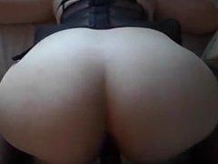 Hot white single mom loves black dick