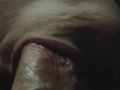 How to Give a Blowjob & Swallow Closeup