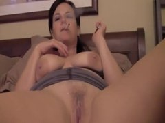 Hot Milf Annabelle Flowers takes a huge load of cum