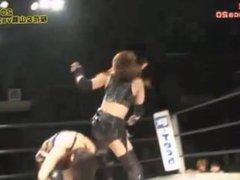 Misaki Ohata & Mio Shirai vs. Yumi Ohka & Yuu Yamagata