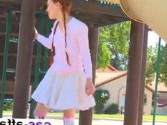 Redhead Schoolgirl - Meet her at CAS-AFFAIR.COM
