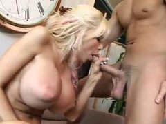 """Big titted Milf fucking younger guy""""..."""
