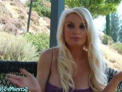 Blonde Big Tit COUGAR Britney