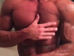 Upclose muscle worship ripped muscle