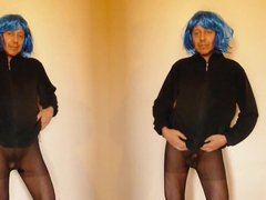 830 at1 Crossdresser twins nackt 4all naked Nylonboy tussi