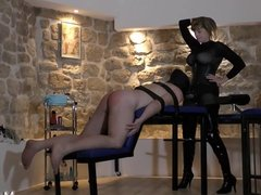 Femdom Dominatrix in Paris Mistress M loves to whip men
