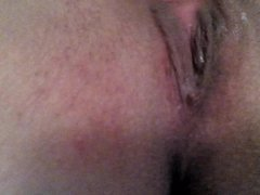 Hot close up creamy pussy juice to orgasm