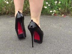 high heels sky