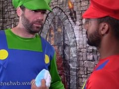 Power Up Plumbers Preview Gay XXX Mario Bros. Cosplay Parody