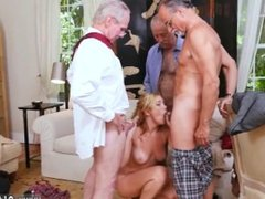 Old man big cock and old lesbian ass licking first time Frankie And The