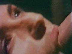 Retro Classic - Woman in Silky Teddy gets Oral Creampie