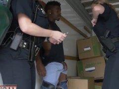 Black police gangbang Black suspect taken on a tough ride