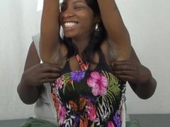 ebony soles tickled