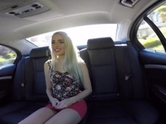 Naomi Woods Pounded In A Car