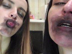 Black Lipstick Makeout 2