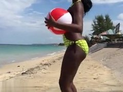 2 hot Jamaican Ebony Babes shake their A - My Fuck from CHEAT-DATE.COM
