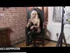 Date her on DOM-MATCH.COM - Femdom Starla POV Chastity Instructions
