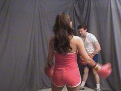 Lydias Boxing The Balls