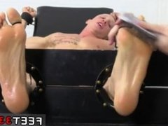 Nude barely legal gay porn Cristian Tickled In The Tickle Chair