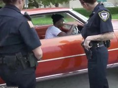 Black cop blowjob xxx As shortly as officer