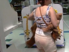 Diaper Girl Venus Diapered at Toys R's S