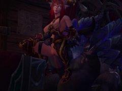World of Warcraft WoW SFM Music compilation - Alexstrasza Ysera Tyrande