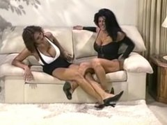 High Heels Fighting Each Other