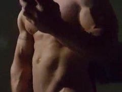 Muscle-Hunk Beatin' Off