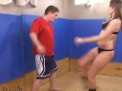 Hot mixed fight 1