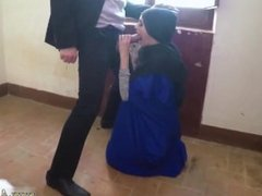 Hot arab mom first time 21 year old refugee in my hotel room for sex