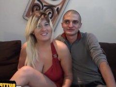 Big tits amateur pussy penetration and tits cumshot