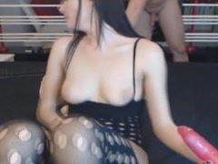 Hot Brunette Fucked Her Ass With A Mas01 - more at hotnudegirlz.com