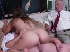 German girls fuck old milf Ivy impresses with her large mounds and ass