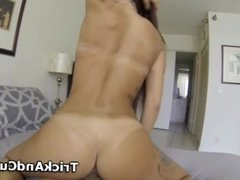 Tattooed Albie riding and sucking cock for cash