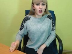 Ansamblia - Very hot and beautiful ukrainian girl with ohmibod
