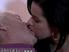 Hot old milf Bruce a muddy old stud loves