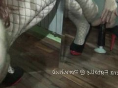 Step sister blackmail-Brother blackmail sister to masturbate