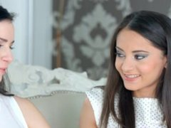 Sapphic Erotica presents Kittina Cox and Shrima Malati lesbians