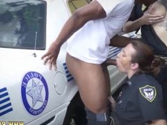 Audrey bitoni hot cop Dereck payed his tickets by providing both girls