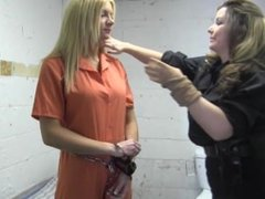 Handcuffed in Jail