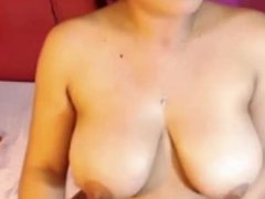 Cyndi from DATES25.COM - Juicy latina on webcam big tits
