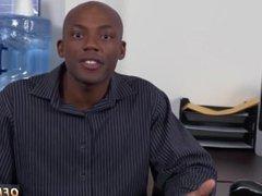 Man using gay sex doll The HR meeting
