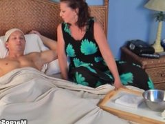 Mom Takes Bandages Off Son's Curcumcision (Margo Sullivan)