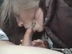 Lissette from DATES25.COM - Amateur blowjob in car