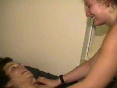 (F/M Tickling) Gabe Tickled by Girlfriend Part 3
