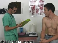 Naked physical exam male  and