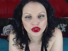 Calista LIVE on 720CAMS.COM - Red lipstick on cock